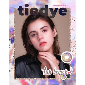 Princess Pinky Tiedye Tan Brown