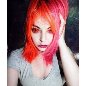 Princess Pinky Red Sclera