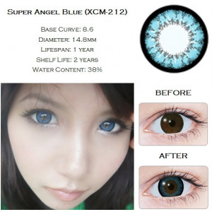 Geo Super Size Angel Blue