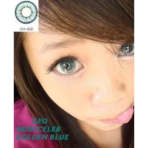 Geo Nudy Golden Blue
