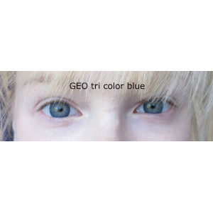 Geo Tri Color Blue