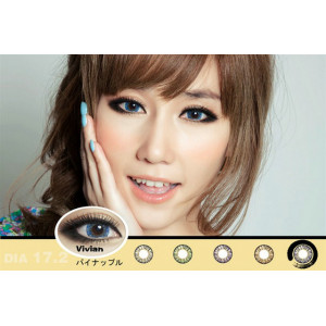 Vivian 3 Tone Blue