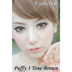 Shinny Brown (known as Puffy 3 tone)