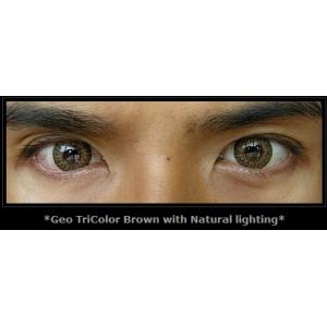 Geo Tri Color Brown