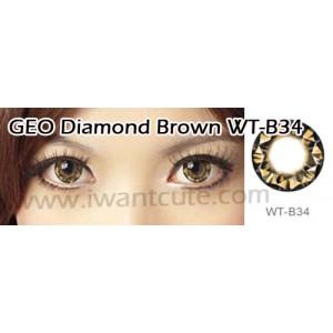 Geo Diamond Brown