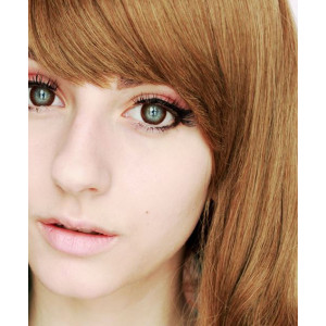 Geo Eyevelyn Brown (Silicone Hydrogel)