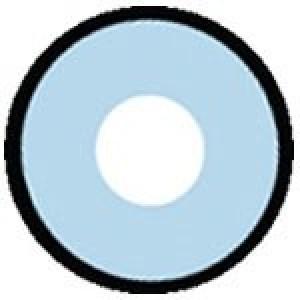 Blue Lens with Black Rim
