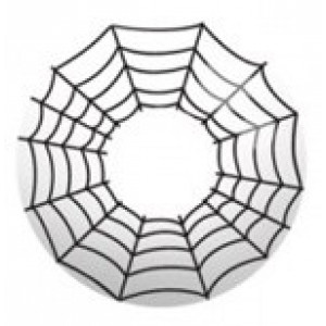 Cosplay Spiderman Eye White F13