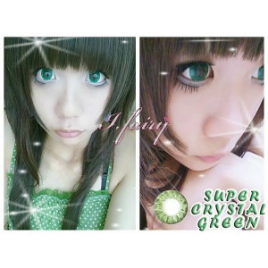 Pretty Crystal Green (known as I.Fairy Super Crystal)