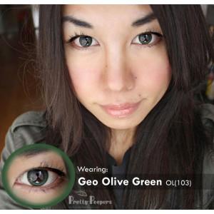 Geo Olive Wing