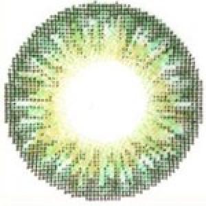 Geo Tri Color Green