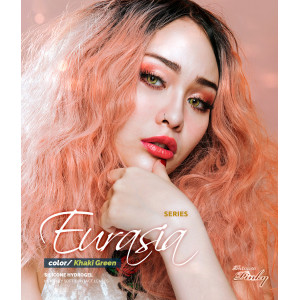 Princess Pinky Eurasia Khaki Green (Silicone Hydrogel)