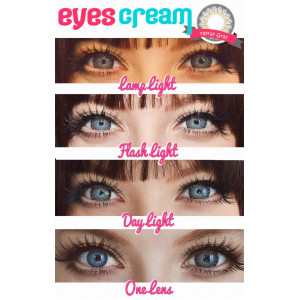 Geo Eyes Cream RayRay Gray
