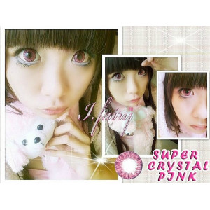 Pretty Crystal Pink (known as I.Fairy Super Crystal)
