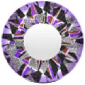 Vassen Diamond 3 Tone Violet
